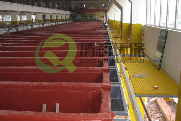 韶关冶炼厂电解车间防腐工程