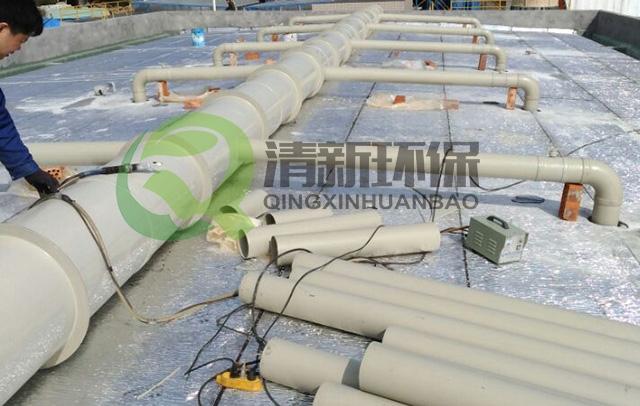 PP通风管件制作及安装